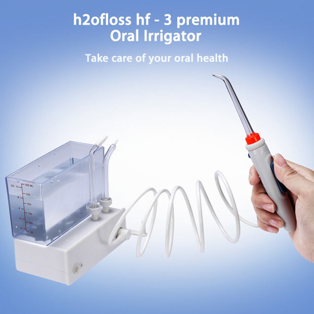 Coupcou.com: h2ofloss hf - 3 premium Oral Irrigator Teeth Cleaning Machine