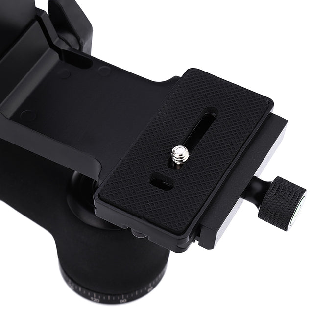 Coupcou.com: 360 Degree Aluminum Alloy 30 Lbs 1/4 inch Screw Gimbal Tripod Head for DSLR Camera