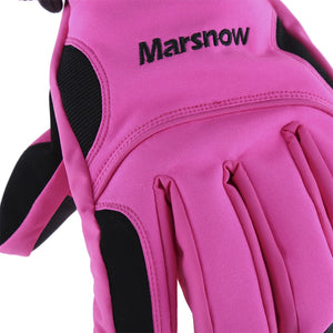 Coupcou.com: MARSNOW Waterproof Winter Outdoor Warm Thickening  Skiing Riding Gloves for Men Women