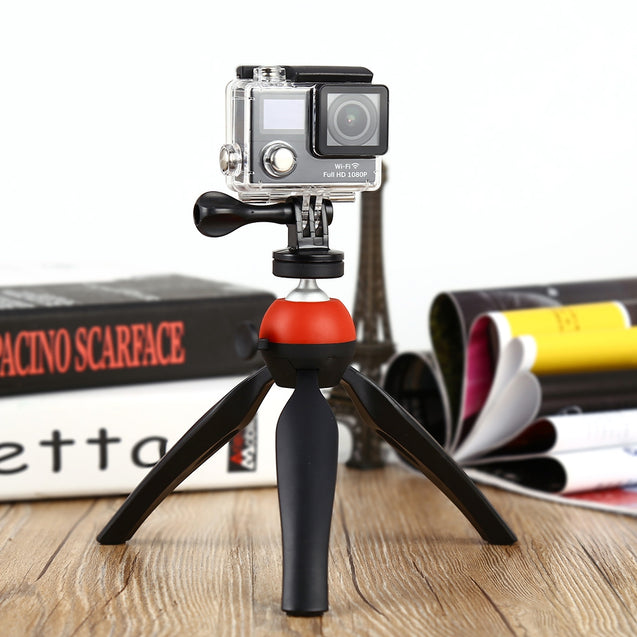 Coupcou.com: Universal Mini Tripod 7.28 inch Rotation Desktop Handle Stabilizer for Phone Action Camera