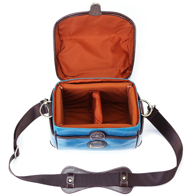 Coupcou.com: Retro Color PU DSLR Camera Waterproof Photography Handbag Shoulder Bag