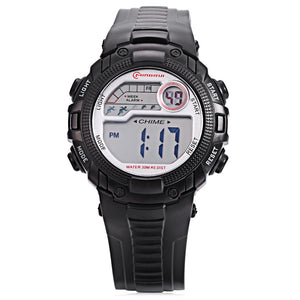 Coupcou.com: MINGRUI MR - 8562033 Children Digital LED Watch Chronograph Calendar Kids Wristwatch
