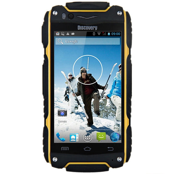 Coupcou.com: 4.0 inch Discovery V8 Android 4.4 3G Smartphone MTK6572 1.0GHz Dual Core WiFi GPS Waterproof Dustproof Shockproof 4GB ROM
