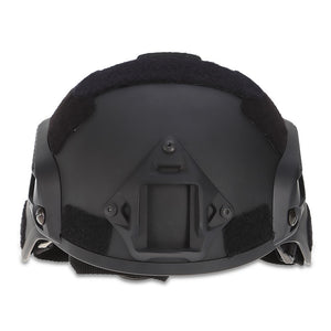 Coupcou.com: JJW Tactical Military Airsoft Paintball Helmet with Mount Rail