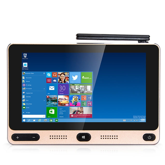 Coupcou.com: HIGOLE F1 5 inch 720 x 1280 Pixels Mini PC Intel Cherry Trail Z8350 Quad-core Windows 10 / Android 5.1 BT 4.0 2.4GHz / 5GHz WiFi 4K Box