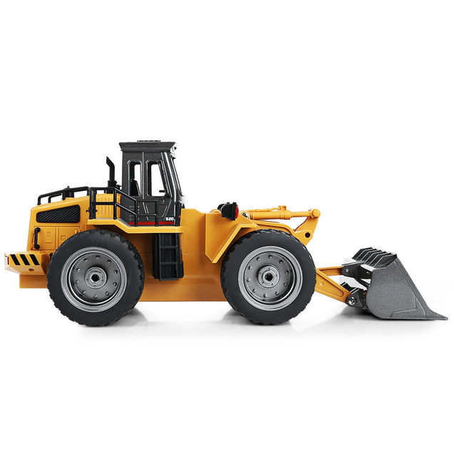 Coupcou.com: HUINA 1520 1:18 2.4GHz 6CH RC Alloy Truck Construction Vehicle