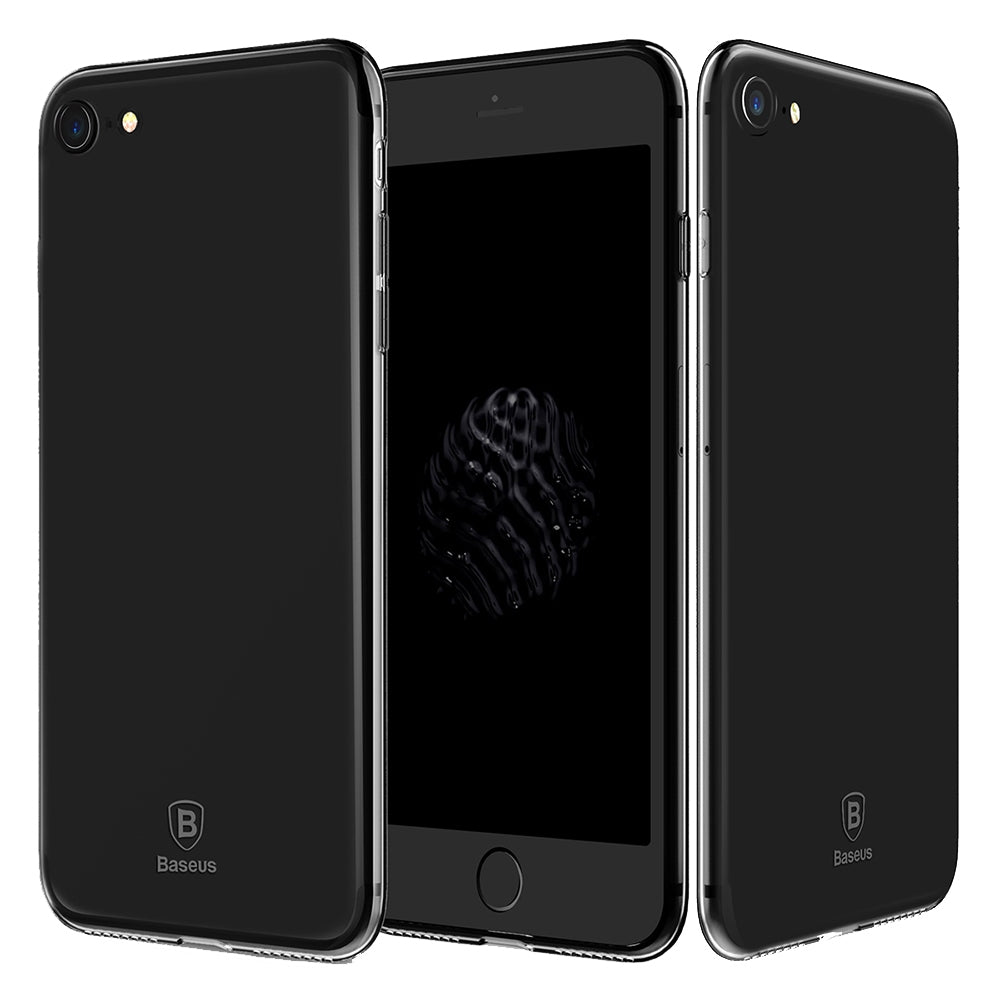 Baseus 4.7 inch Ultra Slim Simple Protective Comfortable Mobile Phone Case Protector Cover for i...BLACK