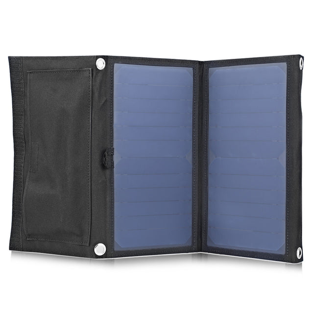 Coupcou.com: GBtiger 14W Dual USB Sunpower Panel Power Emergency Bag