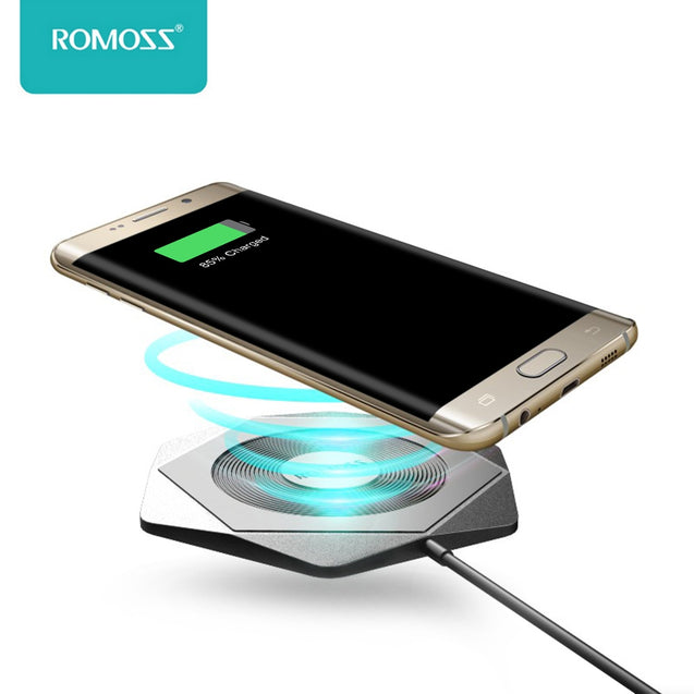 Coupcou.com: ROMOSS WF01 Hexa QC 2.0 Qi Wireless Fast Charging Pad