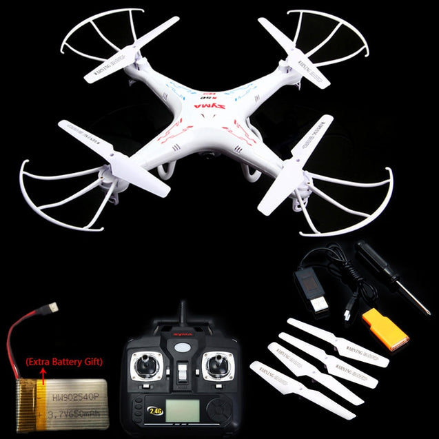 Coupcou.com: Syma X5C New Version X5C - 1 2.4GHz 4 Channel 6 - Axis Gyro RC Quadcopter