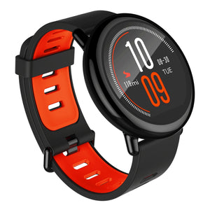 Coupcou.com: Original Xiaomi Huami AMAZFIT Bluetooth 4.0 Heart Rate Monitor Sports Smart Watch GPS Real-time Track Wristband