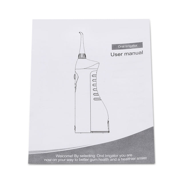 Coupcou.com: LV - 800S Portable Professional Rechargeable Oral Irrigator Teeth Electric Water Spa