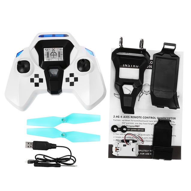 Coupcou.com: QI ZHI TOYS QZ - S8 Foldable RC Drone RTF Air Press Altitude Hold / Headless Mode / One Key Return