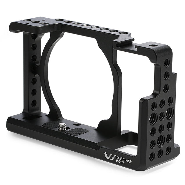 Coupcou.com: WEIHE DSLR Camera Video Cage Stabilizer Rig for Sony A6000 / A6300 / NEX7