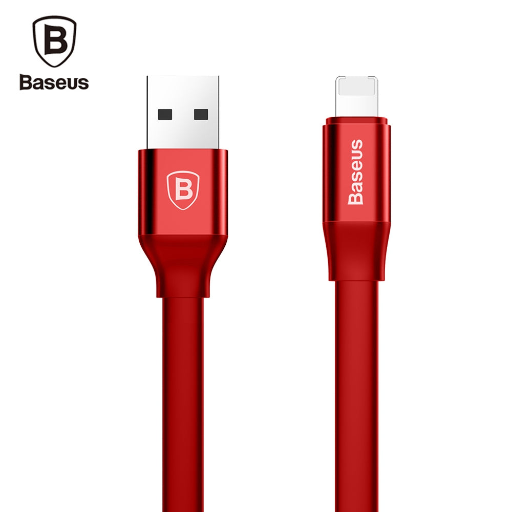 Baseus Simple Series 2 in 1 Charge Data Transfer Cable 1.2MRED
