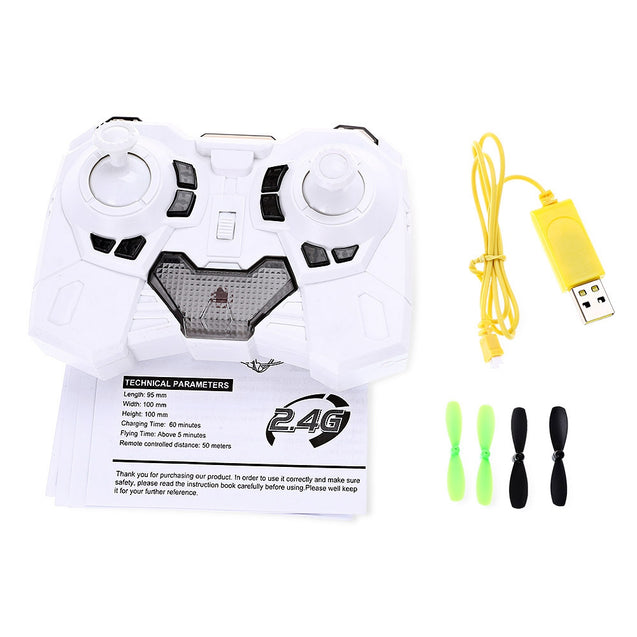 Coupcou.com: Helic Max Sky Walker 1336 2.4GHz 4CH RC Quadcopter 3D Flip Climbing Wall Roller Copter