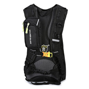 Coupcou.com: SOLDIER BLADE Multifunction Outdoor Traveling Riding Light Weight Water Resistant Backpack