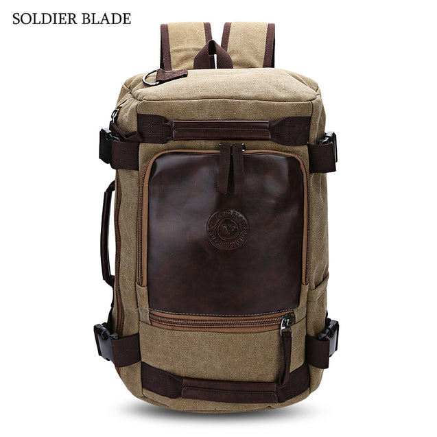 Coupcou.com: SOLDIER BLADE Multifunction Unisex Travel Backpack Strong Outdoor Duffle Bag