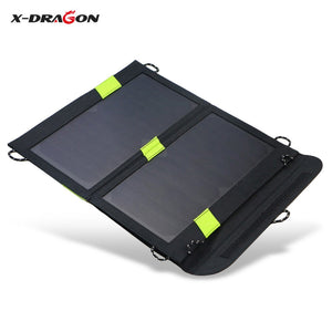 Coupcou.com: X-DRAGON 5V 1.6A 14W Solar Panel Charger Folding Bag