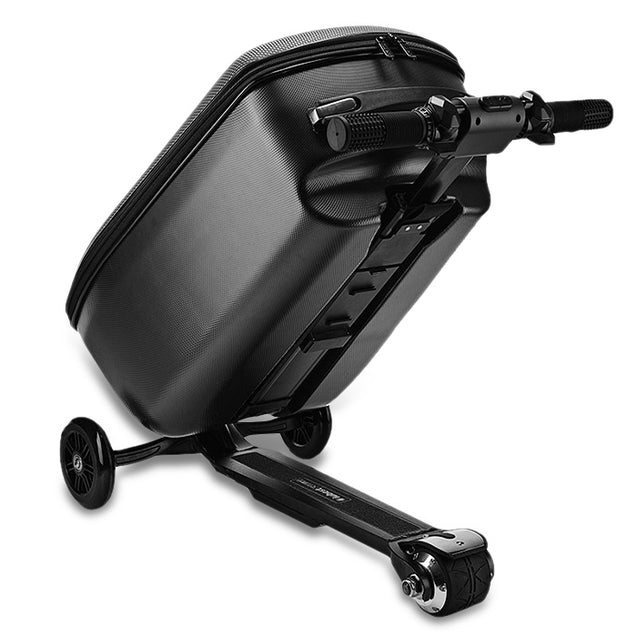 Coupcou.com: IUBEST IU - DX01 3-wheel Electric Suitcase Scooter with Polyester Luggage / Aluminum Alloy Frame