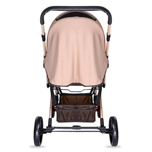 Coupcou.com: MoonSater YA - 2305 Universal Casters Foldable Baby Stroller
