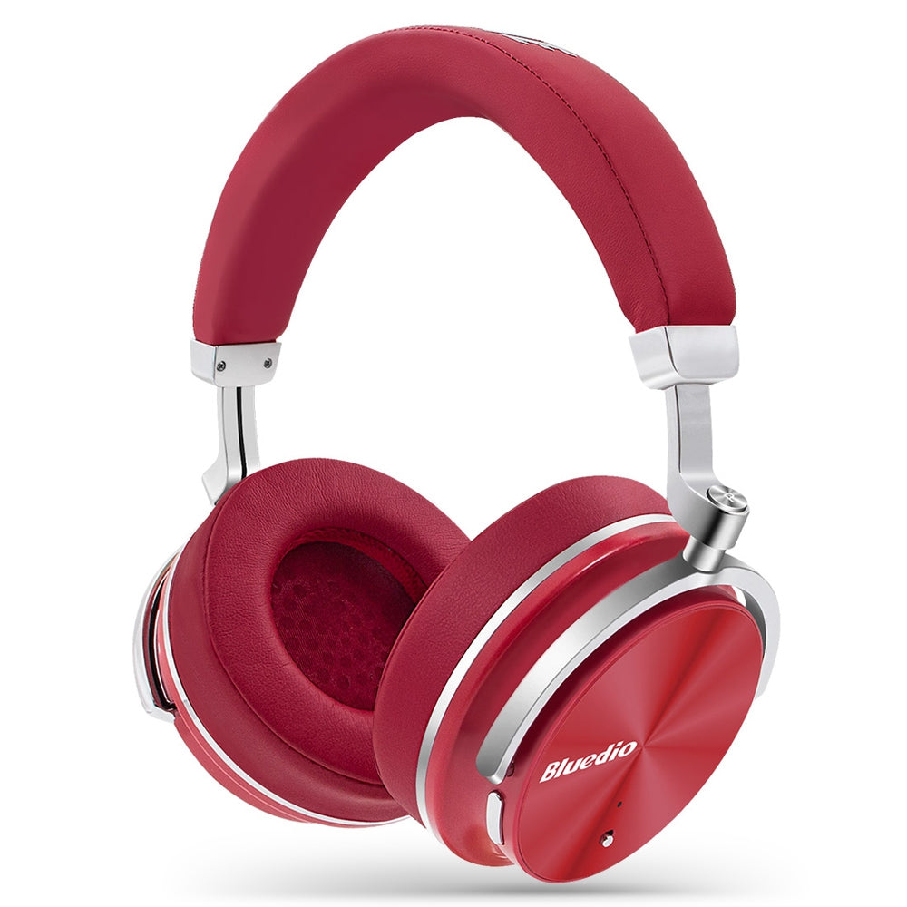 Bluedio T4 Portable Noise Cancelling Bluetooth HeadphonesRED