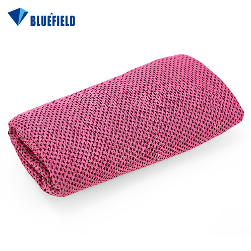 Bluefield Multi-functional Quick Drying Cooling TowelROSE RED
