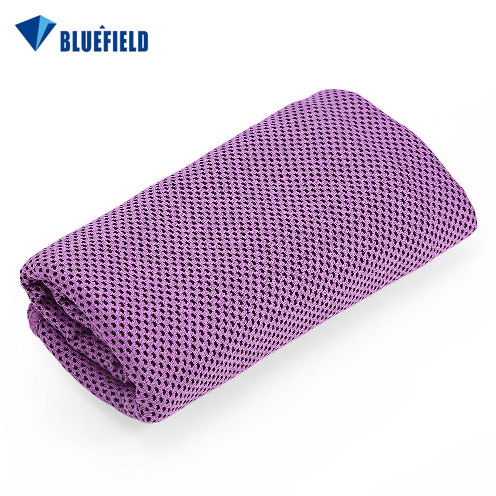 Bluefield Multi-functional Quick Drying Cooling TowelPURPLE