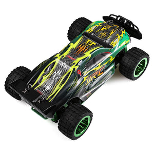Coupcou.com: JJRC Q36 1:26 Mini Brushed Off-road RC Racing Car RTR 30km/h+ Fast Speed / Aluminum Alloy Chassis / LCD Screen Transmitter