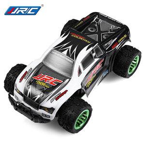Coupcou.com: JJRC Q35 1:26 Mini Brushed Off-road RC Monster Truck RTR 30km/h+ Fast Speed / Aluminum Alloy Chassis / LCD Screen Transmitter
