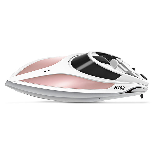 Coupcou.com: TKKJ H102 Brushed RC Racing Boat RTR 26 - 28km/h / Self-righting Function / 2.4GHz 4CH LCD Screen Transmitter