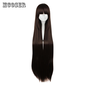 Home Lovelive Sunshine Kurosawa Dia Dark Brown Long Straight Wig Cosplay Costume Love Live Aqours Heat Resistant Hair Women Wigs Fashionable And Attractive Packages