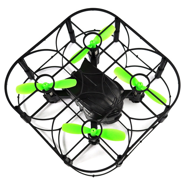 Coupcou.com: Helic Max 1706A Mini RC Quadcopter RTF Protective Frame / Air Press Altitude Hold / One Key Return
