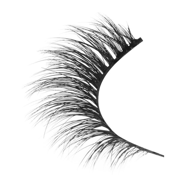 Coupcou.com: Pair of Beauty Natural Mink Hair Messy Dense False Eyelashes