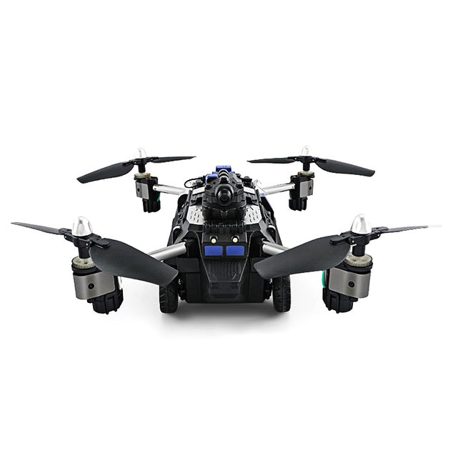 Coupcou.com: JJRC H40WH 2-in-1 RC Flying Tank Quadcopter - RTF WiFi FPV 720P HD / One Key Transformation / Air Press Altitude Hold