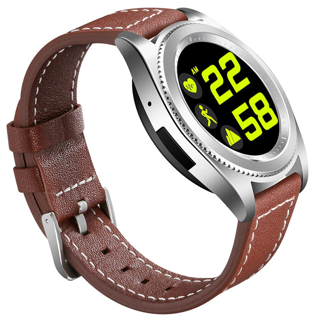 NO 1 S9 Bluetooth Smartwatch Heart Rate Monitor Activity Tracker
