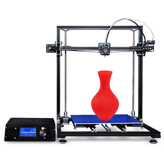 Coupcou.com: Tronxy X3S Aluminum Frame High Precision LCD Display Screen 3D Printer DIY Kit
