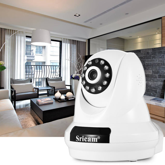 Coupcou.com: Sricam SP018 HD 1080P Wireless WiFi IP Indoor Security Camera Night Vision / P2P / Motion Detection / Pan and Tilt
