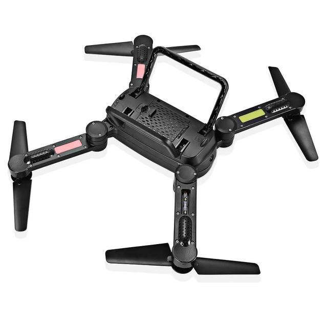 Coupcou.com: X8T Foldable RC Quadcopter 2.4G 4CH 6-axis Gyro Altitude Hold Headless Mode Drone RTF