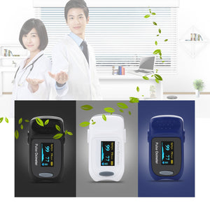 Coupcou.com: FS20A Finger Pulse Oximeter OLED Display Portable Blood Oxygen Saturation Monitor