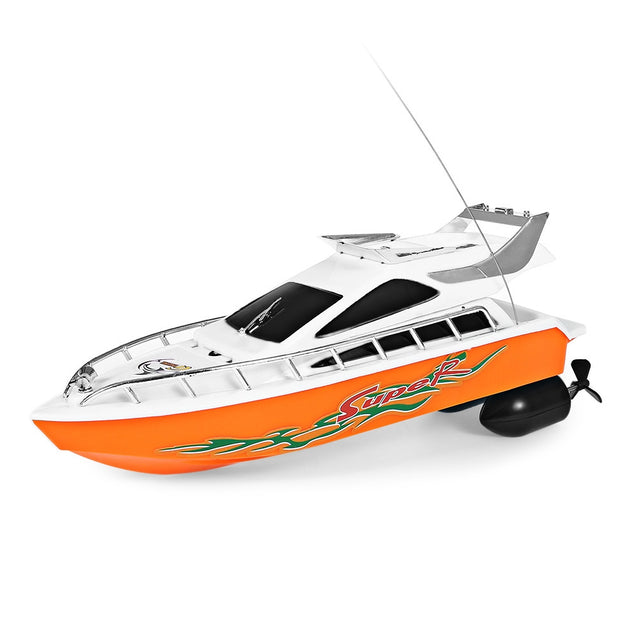 Coupcou.com: C101A Remote Control Boat Model Ship Sailing Plastic Children Electric Toy