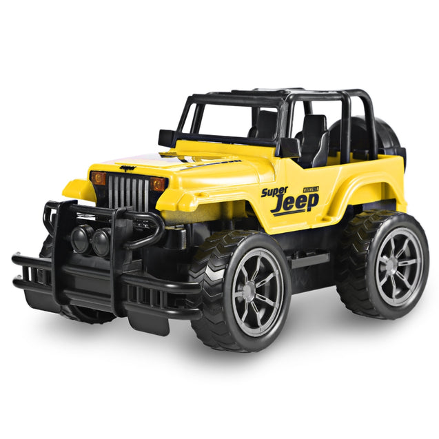 Coupcou.com: 1:24 Scale Vehicle Remote Control Car Off-road Jeep SUV Electric Toy Children Gift