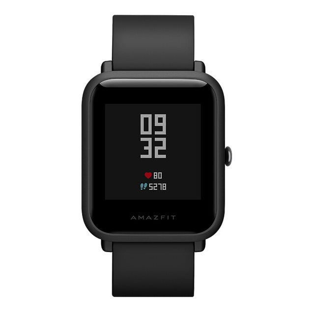 Coupcou.com: Origina Huami Xiaomi AMAZFIT Smartwatch Chinese Version with Corning Gorilla Glass Screen IP68 Waterproof Heart Rate / Sleep Monitor Geomagnetic Sensor GPS
