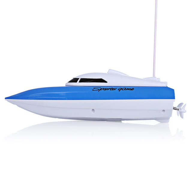 Coupcou.com: 802 Remote Control Yacht Model Ship Sailing Plastic Children Electric Toy