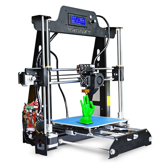 Coupcou.com: Tronxy T819 Full Sheet-metal Structure 3D Printer DIY Kit with Dual Fans