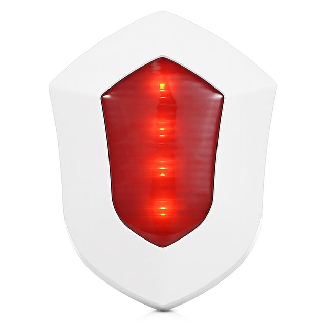 Coupcou.com: GS - SS08 110dB Wireless Outdoor Strobe Siren Home Alarm Security Adjustable Volume