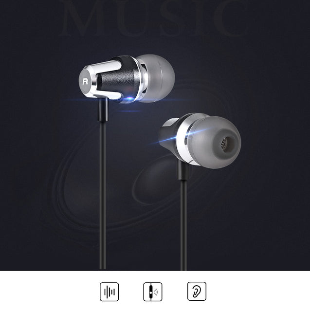 Coupcou.com: OVANN A300 3.5MM Stereo Wired In-ear Music Earphones