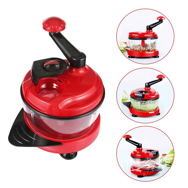Coupcou.com: Manual Food Processor Cutting Machine for Fruit Meat