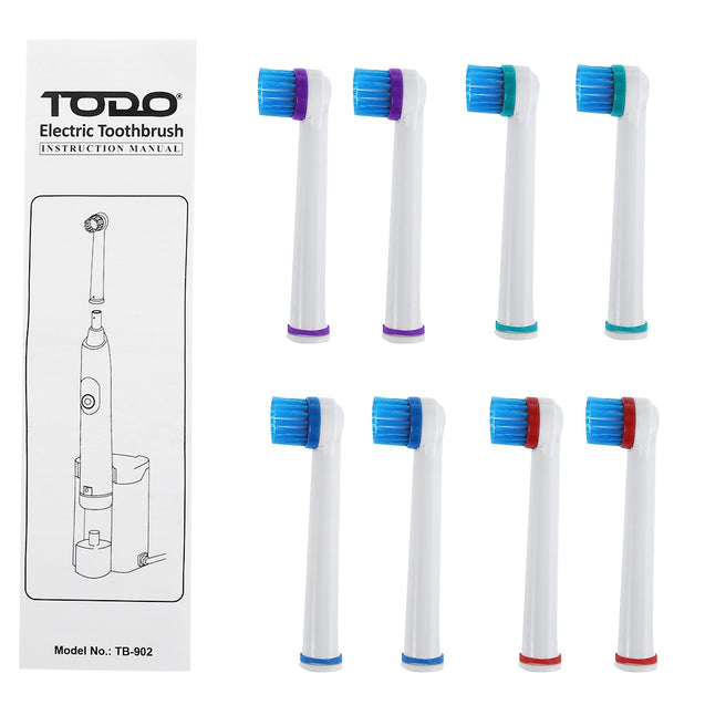 Coupcou.com: TODO TB - 902 Rechargeable Electric Toothbrush Dental Safeguards Oral Health Care Cleaning Tools with Replaceable Brush Head