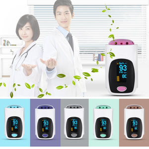 Coupcou.com: Health Care Finger OLED Pulse Oximeter SPO2 PR Saturation Meter Fingertip Monitor Portable Blood Oxygen